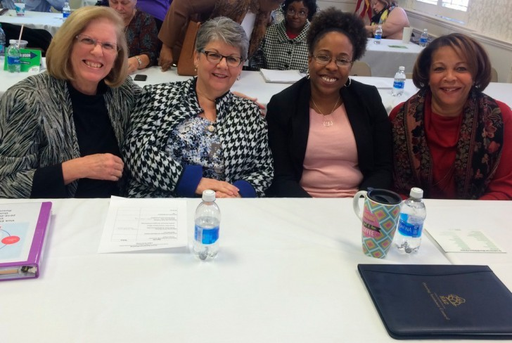 From left to right: Priscilla Morello and Linda Lane (Seeds of Hope Wilson) and Tacita Hamilton and Barbara Blackston (Wilson Community Improvement Association). Contributed